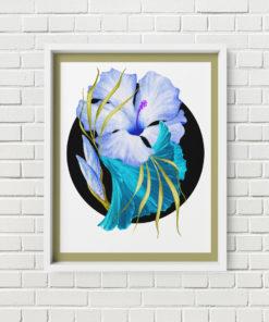 Flower Power – Poster Mockup